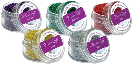 Sparkling new colours and die-cut dimensions from Flower Soft