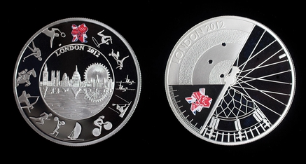 Official London 2012 Olympic coins revealed