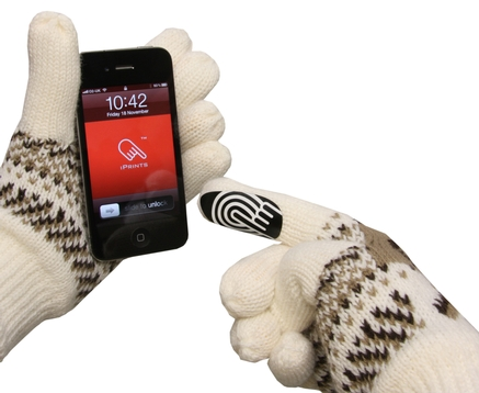 New iPrints make gloves touchscreen friendly