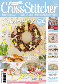 CrossStitcher magazine celebrates 20 years!