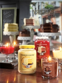 Limited edition Eat Desserts First Collection from Yankee Candle®