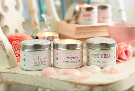 The Country Candle Company launches three new message candles