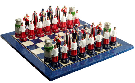 Studio Anne Carlton launches Diamond Jubilee chess set