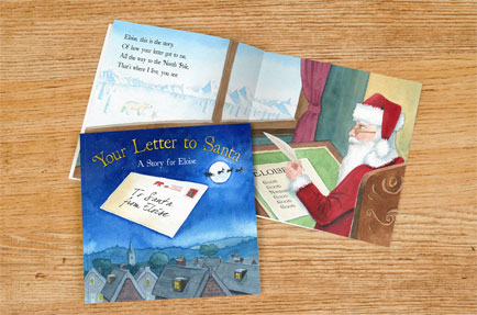 Signature Gifts launches personalised 'Your Letter To Santa' book