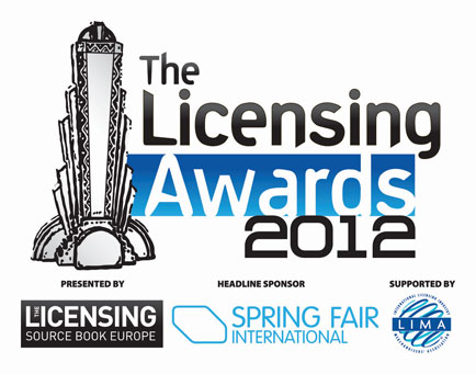 Best Licensed Property finalists in The Licensing Awards 2012 are revealed