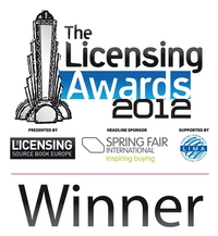 Winners of The Licensing Awards 2012 announced