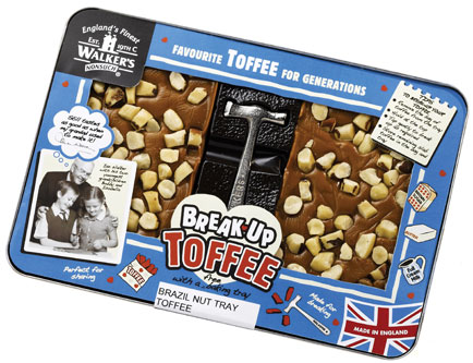 Walker's Nonsuch relaunches its Break Up toffee range