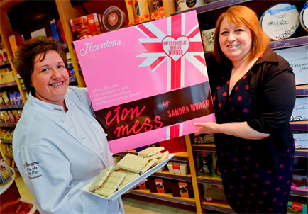 Eton Mess wins Thorntons Great Chocolate Britain competition