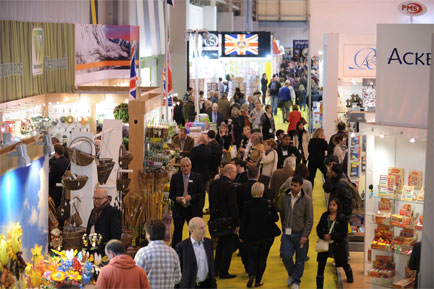 Gift, Home & Volume expand for Spring Fair 2013
