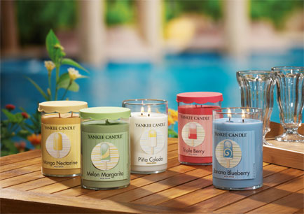 New limited edition Cool Pops collection from Yankee Candle®