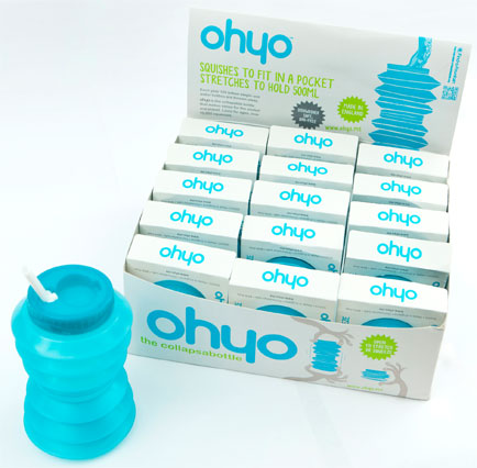 Introducing the Ohyo pocket drinks bottle