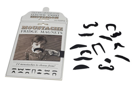 Thabto launches moustache fridge magnets and doormat