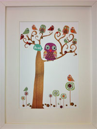 Cinnamon Aitch launches its first range of hand decorated prints