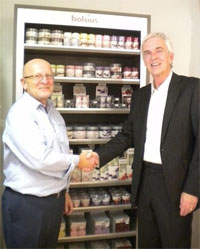 Bolsius competition winner gets candle wall display installed in store