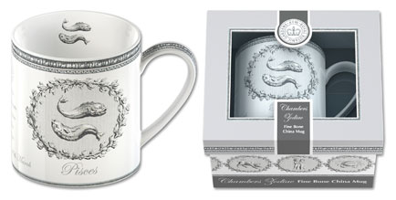 Creative Tops launches the William Chambers Zodiac fine bone china mug collection