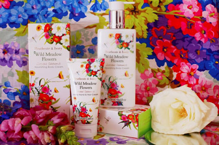 A springtime treat with the limited edition Wild Meadow range