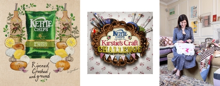 KETTLE® Chips and Kirstie Allsopp's Craft Challenge