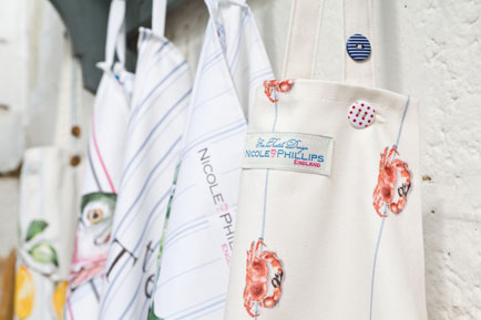 Nicole Phillips England launches with range of fine textile designs