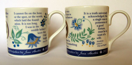 Commemorative baubles and mugs from JH Designpoint