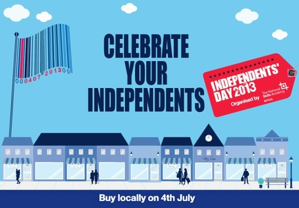 Support Indie Day - 4th July