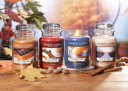 Yankee Candle® releases four new Autumn fragrances