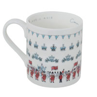 Sophie Allport launches Coronation mug featuring crowns, corgies and carriages!