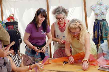 Fusion Art and Craft event at West Dean, Chichester