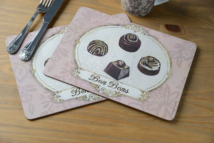Creative Tops introduces the Chocolatier placemat