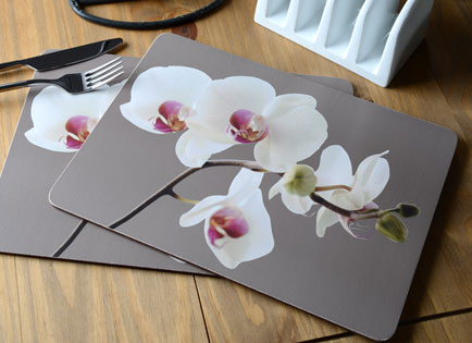Creative Tops introduces the Orchid Harmony placemat design