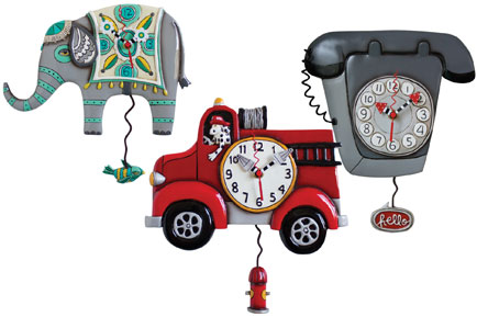 Time for more fun with Allen Designs Clocks