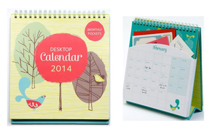K TWO's best-selling calendars and diaries are back for 2014