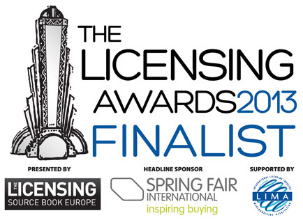 Licensed Property Award Category finalists  revealed