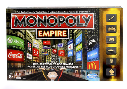Hasbro introduces new Monopoly Empire game