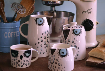 Hannah Turner Ceramics gives flight to a new Owl collection