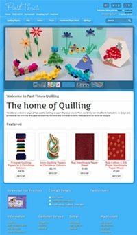 New website for Past Times Quilling