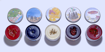 Festive fragrances from Potters Crouch Candles