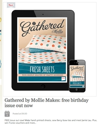 Happy Birthday to Gathered by Mollie Makes