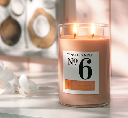 No. 6 joins Yankee Candles®'s Coconut Collection