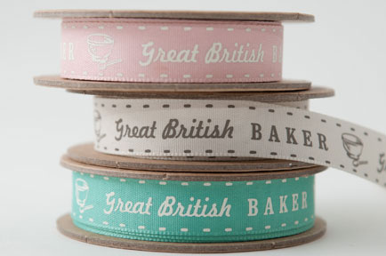 Berisfords' new ribbons are baked with love