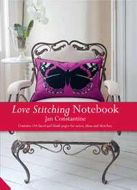 Jan Constantine launches Love Stitching Notebooks