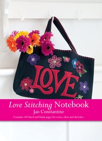 Love embroidery - new notebooks from Jan Constantine