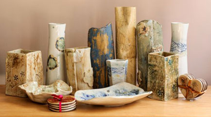 Northamptonshire based ceramic designer/maker gets a Twitter boost from Theo Paphitis