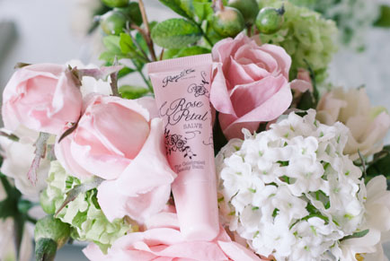 Rose & Co.'s Rose Petal Salve now available in a handy tube