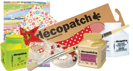 New Decopatch designs breathe new life into the craft