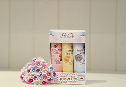 Rose & Co launches lip balm trio gift set at Spring Fair