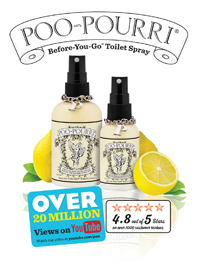 Joe Davies appointed UK distributor for Poo-Pourri in the UK and Eire