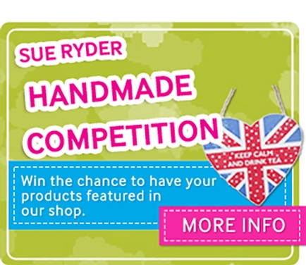 Sue Ryder New Goods launch handmade gifts competition