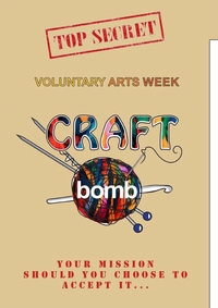 Invitation to craft groups to get involved in CraftBomb week