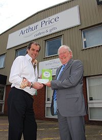 Simon Price, CEO of Arthur Price, wins bira Charitable Champion Award 2014
