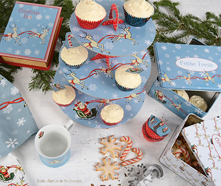 Katie Alice announces Yuletide Sleigh Ride Christmas collection